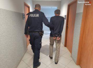 Poszukiwany w rękach myszkowskich policjantów