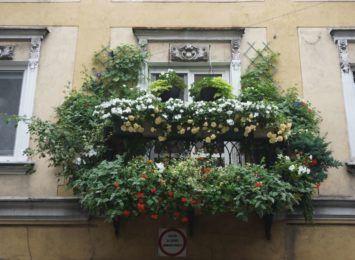 Najładniejszy balkon jest przy Targowej 13