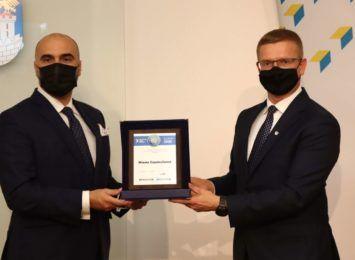 Częstochowa otrzymała nagrodę - Symbol Polskiej Samorządności