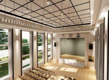 Nowa piękna aula w Mickiewiczu w Lublińcu