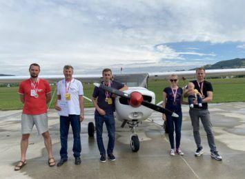 Piloci Aeroklubu Częstochowskiego potwierdzili swoją klasę. Za nami 11. Rajdowe Samolotowe Mistrzostwa Polski – mamy brąz