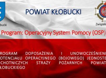 """Poprawa bezpieczeństwa mieszkańców Powiatu Kłobuckiego to cel nowego programu pod nazwą """"OSP""""- Operacyjny System Pomocy"""