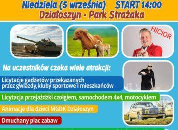 Festyn charytatywny dla Oskarka Pułki w Działoszynie