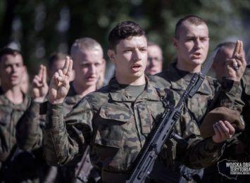 Jeszcze więcej terytorialsów w województwie śląskim. 150 osób złożyło przysięgę