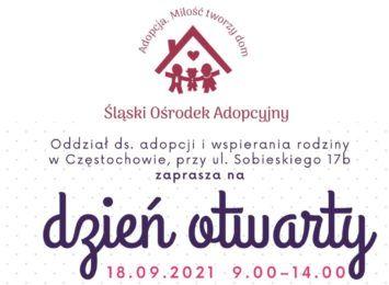 Dzień otwarty w częstochowskim oddziale Śląskiego Ośrodka Adopcyjnego