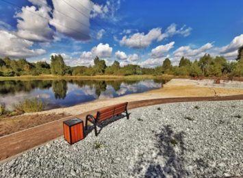 Gmina Olsztyn z kolejną atrakcją turystyczną. Czy widziałeś już nowe otoczenie Jeziorka Kresowego w Kusiętach?