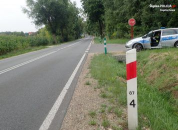 Potrącił rowerzystę w Kolonii Wierzchowisko i uciekł z miejsca wypadku. Trwają poszukiwania sprawcy
