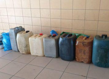 Zatrzymani za kradzież paliwa