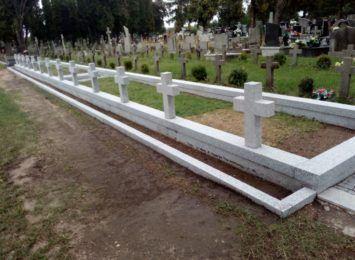We wrześniu kolejny etap odnawiania wojennych mogił na cmentarzu Kule