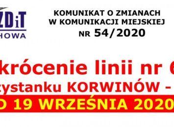 We wtorek (07.09) spore utrudnienia drogowe w gminie Poczesna. MPK zmienia na jeden dzień trasę autobusu linii nr 69