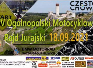 V Jurajski Rajd Motocyklowy. Motocykliści z całego kraju pojadą przez nasze tereny 18 IX