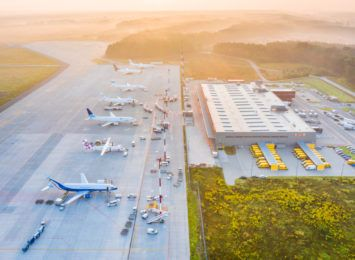 Ruch towarowy w Katowice Airport we wrześniu 2021. Duży wzrost przewozów cargo