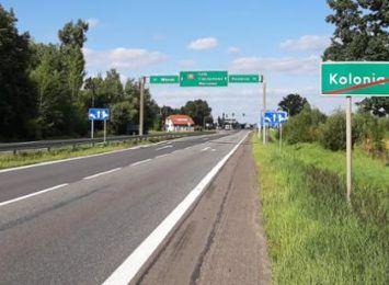Utrudnienia przez rok na 5-cio kilometrowym odcinku DK 91 na południe od Częstochowy