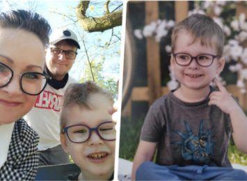 Trzylatek z Częstochowy - Leon Kuszaj - walczy z nowotworem. Potrzebny jest ponad milion złotych