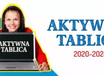 """""""Aktywna Tablica"""" w czterech szkołach w Gminie Mykanów"""